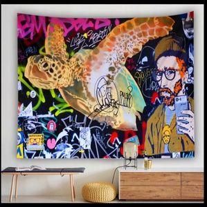🆕 Graffiti Artist Style Tapestry
